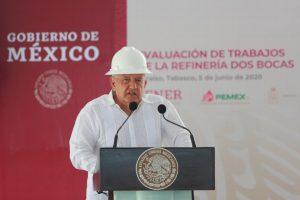 Anuncia AMLO inauguración de refinería de Dos Bocas en 2022