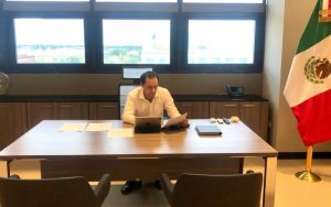 El Gobernador Mauricio Vila Dosal encabezó la instalación del Comité de Evaluación de Daños por tormenta tropical «Cristóbal»