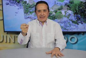 Presentó Carlos Joaquín un plan de nebulización para todo Quintana Roo con el fin de cuidar la salud de la gente