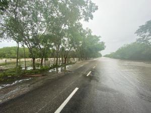 La tormenta tropical Cristóbal afecta en Campeche y Tabasco