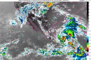 Cristobal mantendrá el temporal de lluvias en Campeche, Chiapas, Oaxaca, Quintana Roo, Tabasco, Veracruz y Yucatán