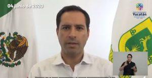 Depresión tropical Cristóbal seguirá afectando a Yucatán: Mauricio Vila