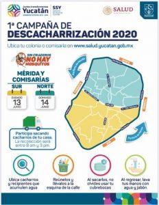 Este fin de semana inicia la campaña de descacharrización en Mérida