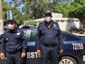 Envía SSPC federal, 10 mil cubre bocas para policías; Adán Augusto agradece apoyo preventivo