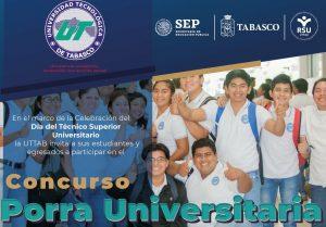 UTTAB convoca a sus estudiantes y egresados para crear la Porra Universitaria