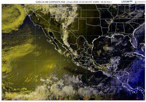 Se pronostican lluvias intensas, descargas eléctricas y posibles granizadas en regiones de Chiapas y Tabasco