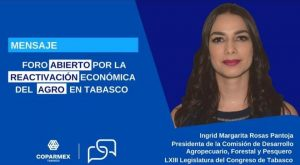 Recorte impacta negativamente en la población que vive y depende del sector rural en Tabasco: Ingrid Rosas