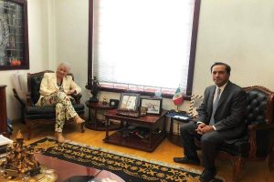 El gobernador Mauricio Vila plantea a Olga Sánchez, la complicada situación que se vive en Yucatán