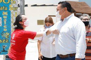 Renán Barrera reconoce y agradece la solidaridad de los meridanos