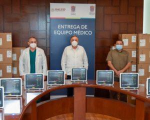 El gobernador Carlos Miguel Aysa González refuerza atención para pacientes críticos por covid-19 en Campeche