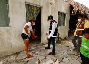 Carlos Joaquín anunció el levantamiento de daños en la zona agrícola de las comunidades afectadas por las inundaciones