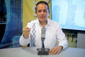 Del 1 al 7 de junio, Quintana Roo está en rojo en el semáforo epidemiológico y no hay actividad abierta ni atención al público: Carlos Joaquín