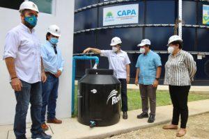 Carlos Joaquín puso en servicio la red de agua potable para la zona costera de Tulum