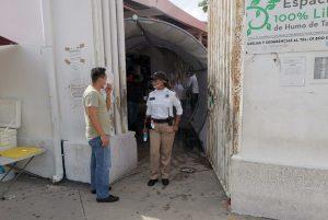 Atiende Tránsito Municipal de Benito Juárez hasta 200 personas por dia bajo medidas sanitarias