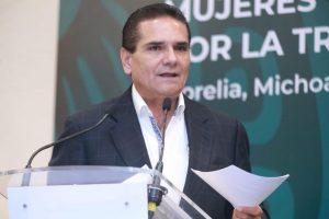 Conago sigue perdiendo fuerza y quedándose marginada: Gobernador de Michoacán