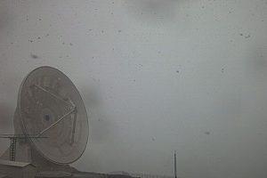Reportan tormenta y caída de nieve en el Pico de Orizaba