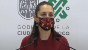 Continuará CDMX en semáforo naranja: jefa de gobierno