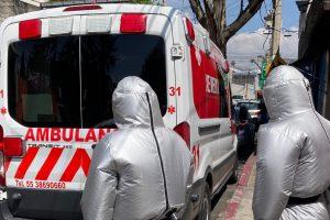 Empresa mexicana crea traje inflable para proteger a personal médico del COVID-19