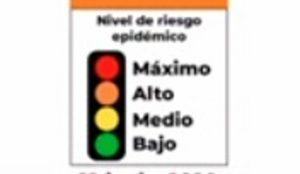 Hay 18 estados en rojo en semáforo epidemiológico; 14 están en naranja