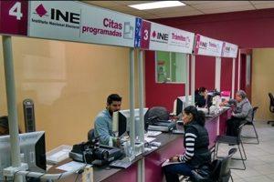 Anuncia el INE reapertura de módulos de atención ciudadana