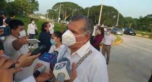 Instalarán burbuja hospitalaria en el Parque Tabasco: Adan Augusto