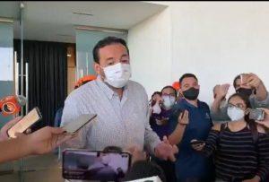Todavia hay capacidad hospitalaria en Yucatán: Mauricio Sauri Vivas