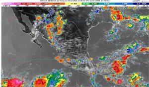 Durante el domingo, se prevén lluvias en Chiapas, Oaxaca, Puebla, Veracruz, y muy fuertes en la Ciudad de México, Chihuahua, Estado de México