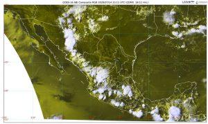 Un domo de alta presión sobre el norte de la República Mexicana mantendrá temperaturas máximas superiores a 40 grados Celsius en los estados fronterizos