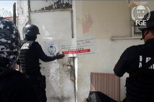 Aseguró FGE drogas y arma de fuego durante un cateo en la colonia Nuevo Progreso en Chetumal