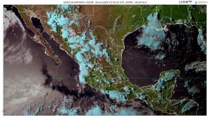 Se pronostican lluvias muy fuertes para Durango, Guerrero, Jalisco, Nayarit, Oaxaca y Sinaloa
