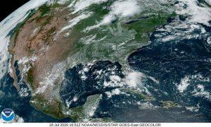 Vaguada dará origen a fuertes tormentas a la península de Yucatan