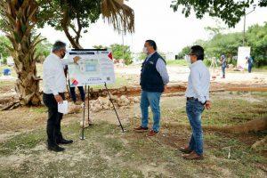 Ayuntamiento de  Mérida avanza en la rehabilitación de espacios públicos
