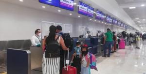 Aeropuerto de Cancún a punto de llegar a mil operaciones en cinco días