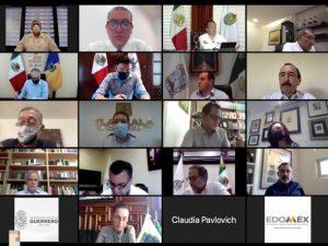 El gobernador Aysa participa en videoconferencia de la Confederación Nacional de Gobernadores