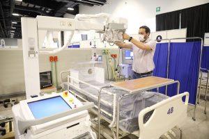 Próximo lunes entrará en funcionamiento el hospital temporal del Centro de Convenciones y Exposiciones Yucatán Siglo XXI en apoyo de hospitales federales y estatales