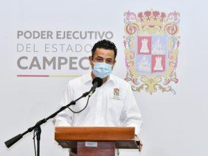Es importante la actividad turística para Campeche ¡pero primero es la salud!: Jorge Manos