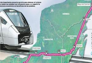 Un grupo de arqueólogos revisará trazo del tren maya