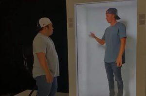 ¿Aburrido de las videollamadas?, ahora puedes interactuar con hologramas tamaño real