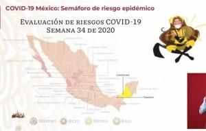 Campeche es el primer estado en llegar al color amarillo en semáforo epidemiológico