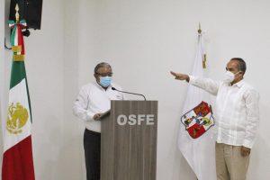 Toma protesta Jesús Alamilla cómo Fiscal Especial del OSFE