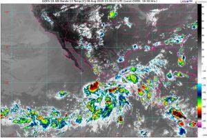 Se pronostican lluvias intensas en Chiapas, Guerrero, Jalisco, Oaxaca, Puebla y Veracruz