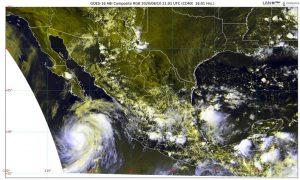 Elida se intensifica a huracán categoría 1