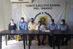 El PRD será un partido a ras de suelo que acompañará las causas sociales en Tabasco: Candidato de unidad Francisco Cabrera Sandoval