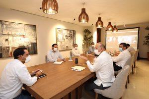 Acuerdan Mauricio Vila y director del Insabi continuar fortaleciendo el sistema de salud en Yucatán