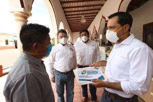 Realiza el gobernador Mauricio Vila acciones de prevención ante avance de la depresión tropical 14