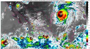 Lluvias torrenciales en Colima, Guerrero, Jalisco, Michoacán y Oaxaca, por la tormenta tropical Hernan y humedad del Pacífico