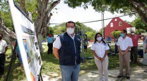 Meridanos constatan los frutos y beneficios del trabajo conjunto con sus autoridades, señala el alcalde Renán Barrera
