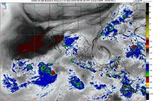 Se prevén lluvias intensas para nueve entidades de México