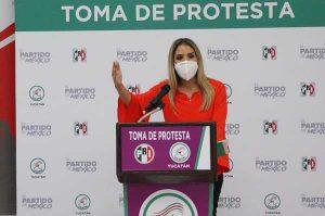 Linett Escoffié nueva presidencia del ONMPRI en Yucatán
