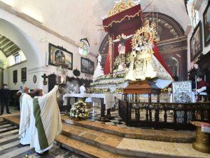 Se reúne la virgen del Carmen con el señor de San Román en Campeche